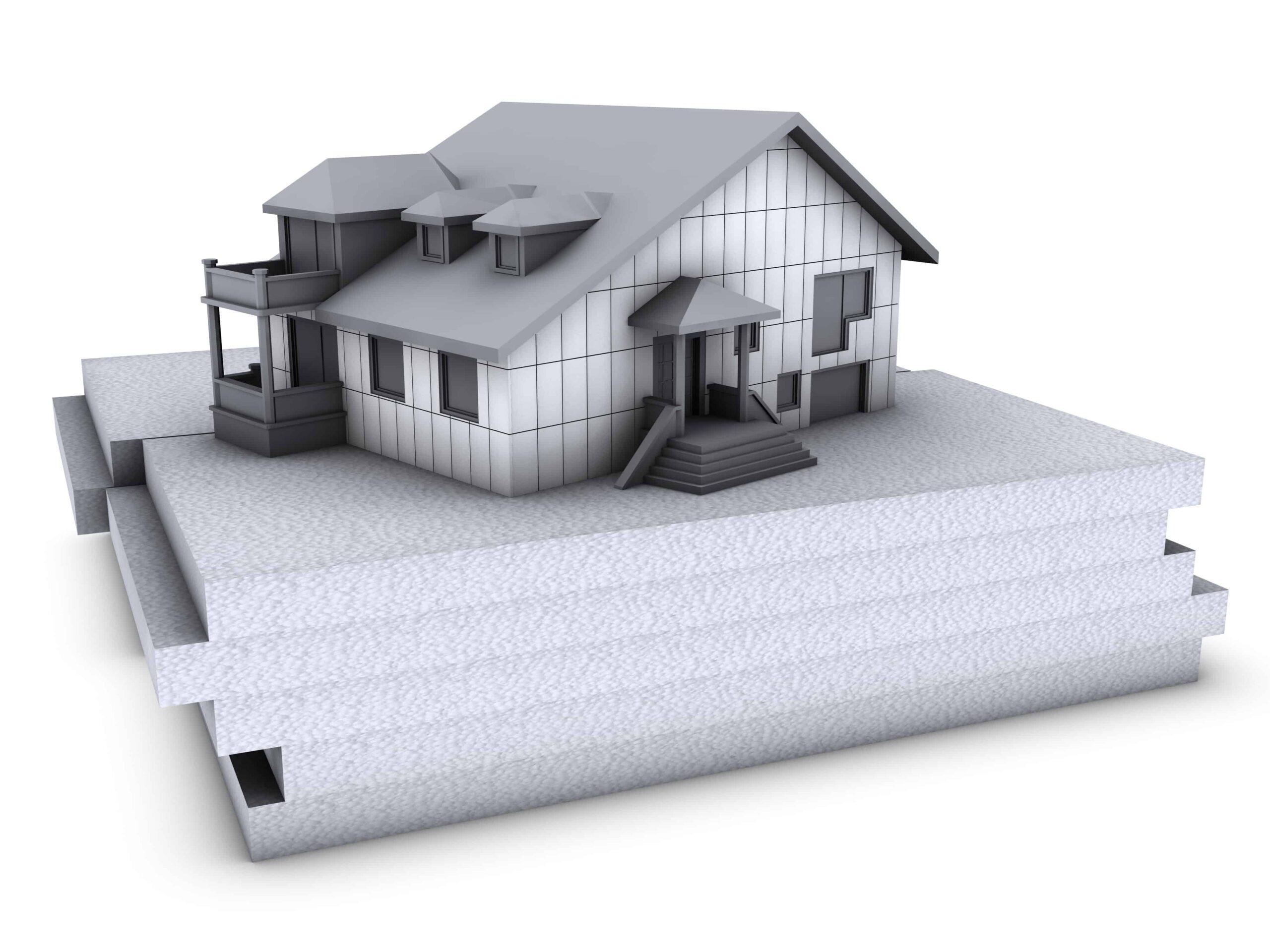 Domy pasywne Tuchola Styrofoam system